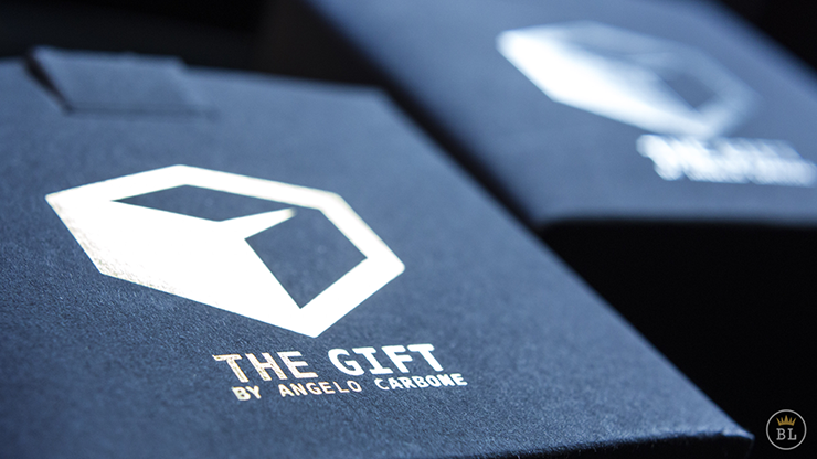 The Gift Black (Gimmick and Online Instructions) by Angelo Carbone