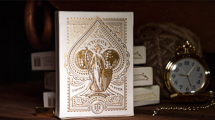 Tycoon Playing Cards (Ivory) by theory11