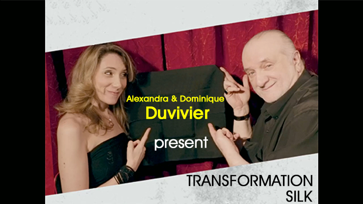 Transformation Silk (DVD and Gimmick) by Dominic Duvivier