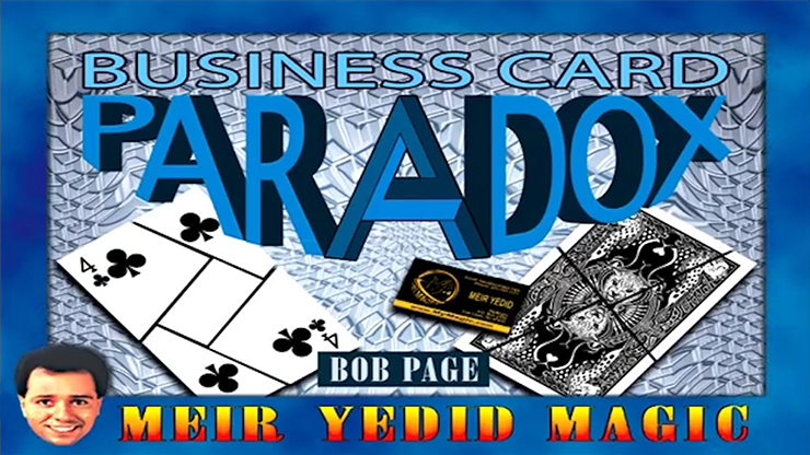 Business Card Paradox by Bob Page