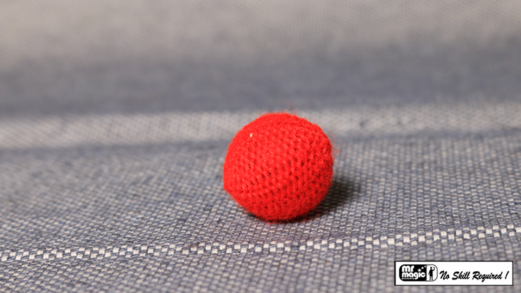 Crochet Ball 0.75 pulgadas Individual (Rojo) - Mr. Magic