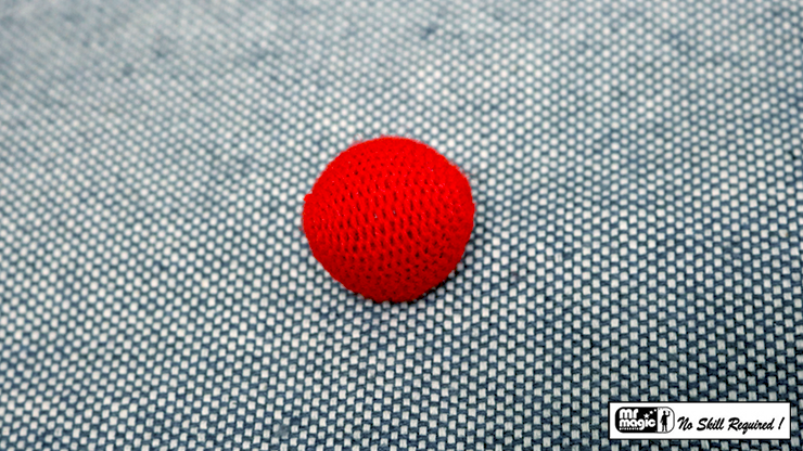 Crochet Ball 1 pulgada Individual (Rojo) - Mr. Magic