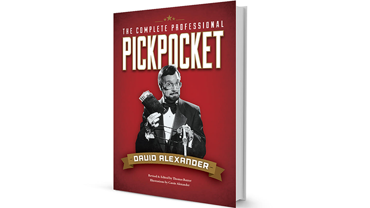 The Complete Professional Pickpocket book by David Alexander - Book