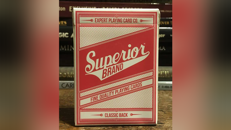 Superior (Rojo) Playing Cards - Expert Playing Card Co