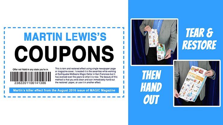 Coupons by Martin Lewis - Trick