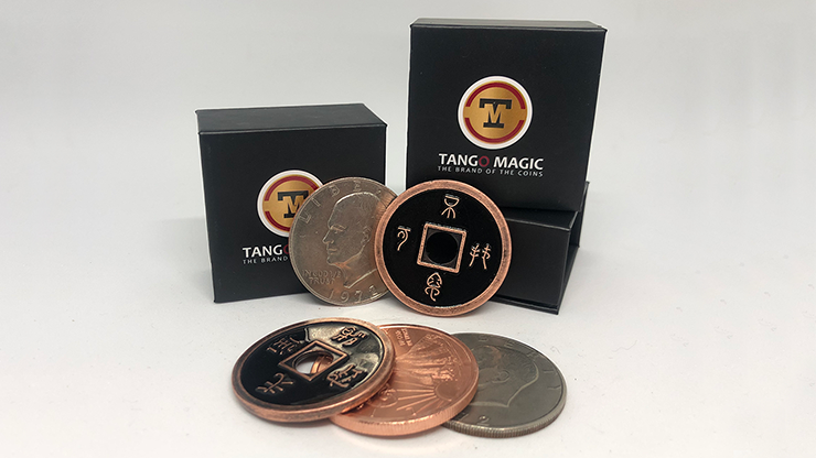 Dollar Size Silver Copper Chinese Transposition (CH023) - Tango Magic