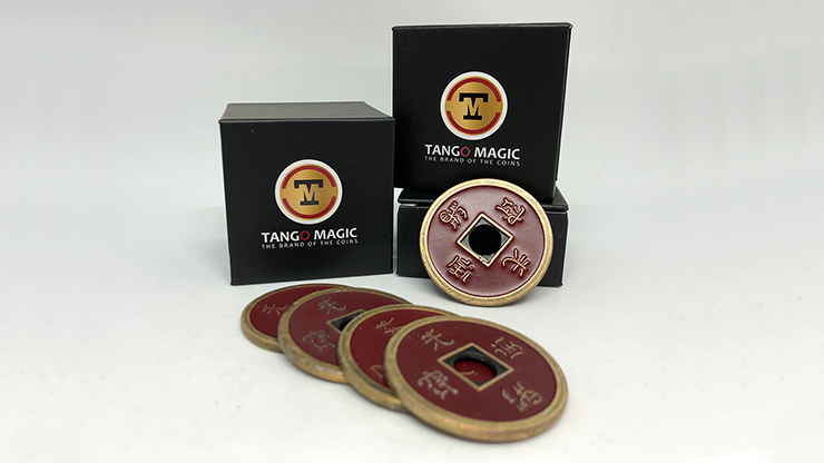 Shell Moneda China Medida Dolar (Rojo) - Tango Magic (CH027)