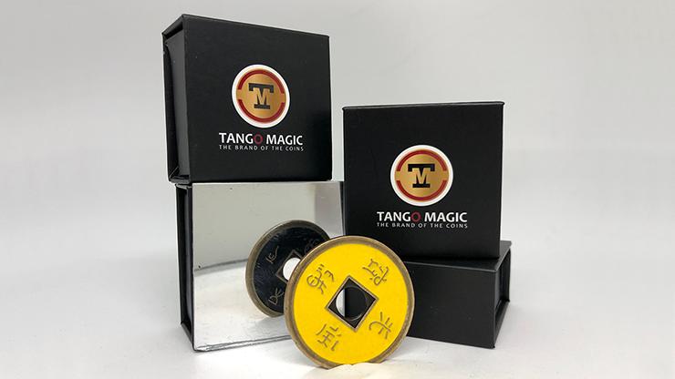 Moneda China Medida Dolar (NEGRO & AMARILLO) - Tango (CH035)