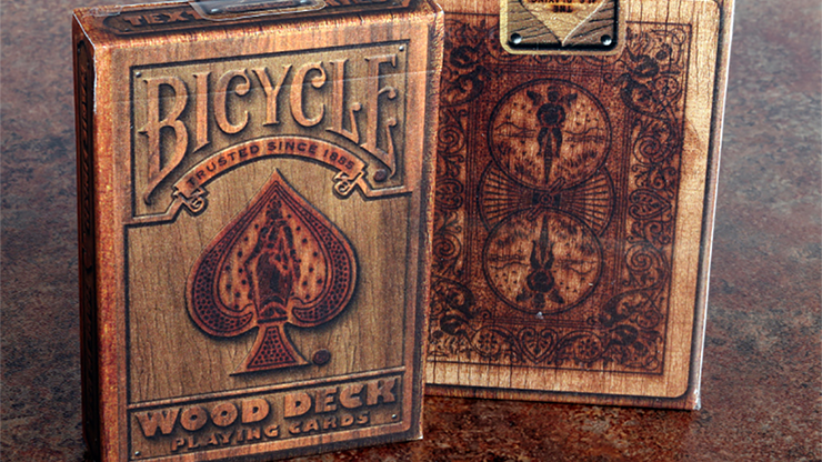 Bicycle Wood Playing Cards - Collectable Playing Cards