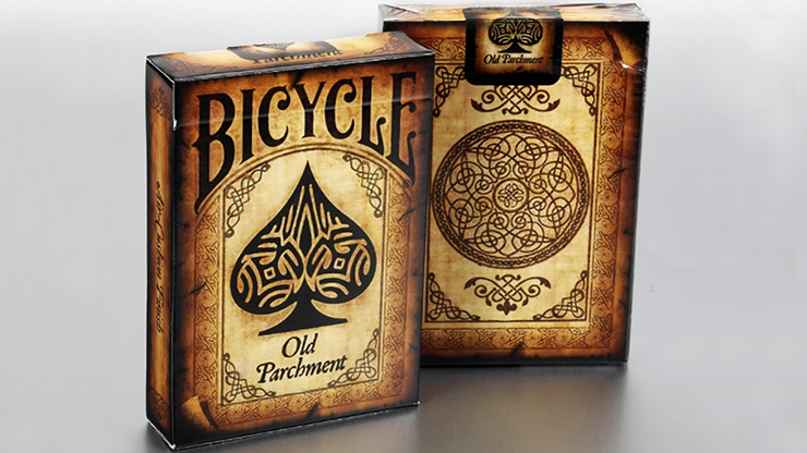 Bicycle Old Parchment Playing Cards - Collectable Playing Cards