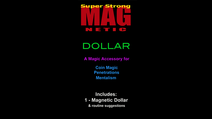 Standard Magnetic Dollar w/Zone Zero Bill Routine (No Coins) - Chazpro