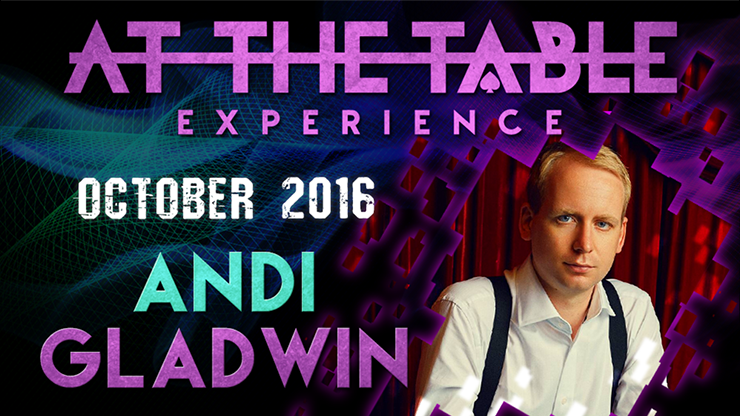 At The Table Live Lecture Andi Gladwin October 5th 2016 video DO