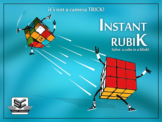 Instant Rubik by Sumit Chhajer - Trick