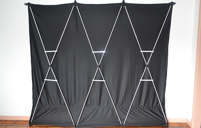 Lightweight Stage Curtain (Black) - Nahuel Oliveria