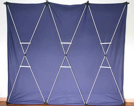 Lightweight Stage Curtain (Blue) - Nahuel Oliveria