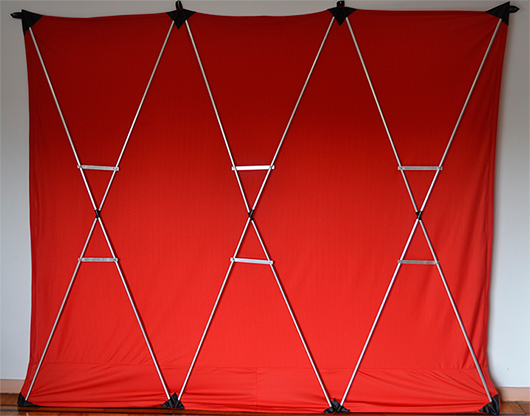 Lightweight Stage Curtain (Red) - Nahuel Oliveria