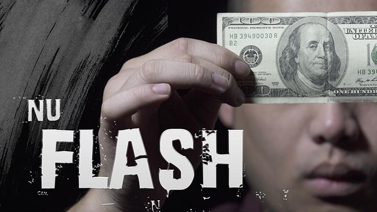 NU FLASH by Zamm Wong and Bond Lee - Geldschein in Zuschauerkarte etc. verwandeln