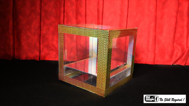 "Crystal Flash Appearance Box (8"" x 8"" x 8"") by Mr. Magic - Trick"