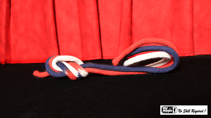 """Multicolor Rope Link (Regular Cotton) 24"""" by Mr. Magic - Trick"""