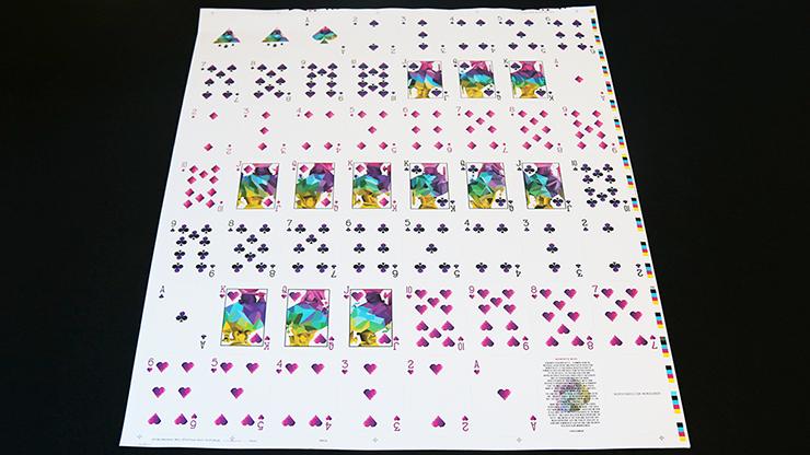 Memento Mori Playing Card Uncut Sheet