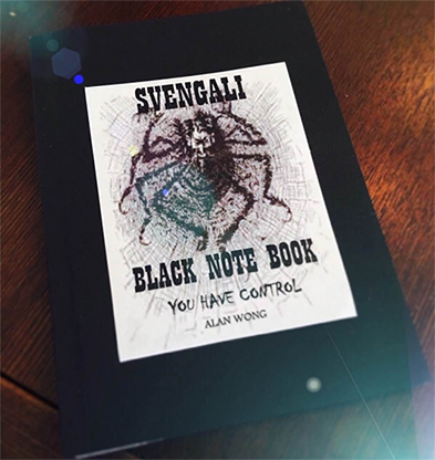 Svengali Note Book (A5 size 5.8 x 8.3 inch) by Alan Wong - Trick