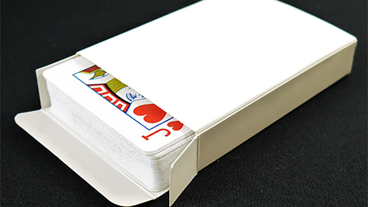 Blank Poker Sized Tuck Box by PropDog MagicWorld Magic Shop