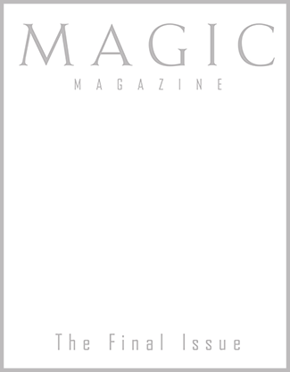 Magic Magazine Final Issue - Book