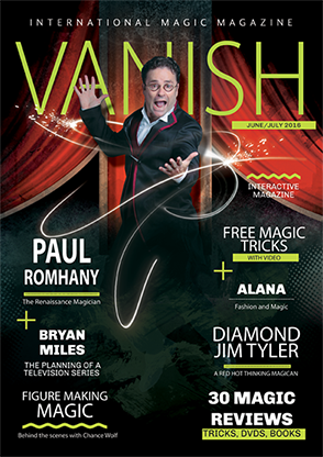 VANISH Magazine June|July 2016 - Paul Romhany eBook DOWNLOAD