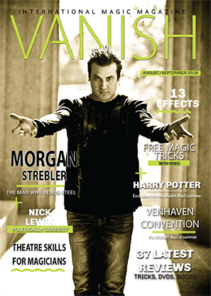 VANISH Magazine August|September 2016 - Morgan Strebler eBook DOWNLOAD