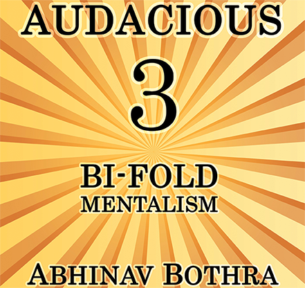 Audacious 3: Bi-Fold Mentalism by Abhinav Bothra Mixed Media DOW
