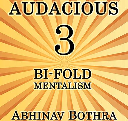 Audacious 3: Bi-Fold Mentalism Mixed Media DOWNLOAD