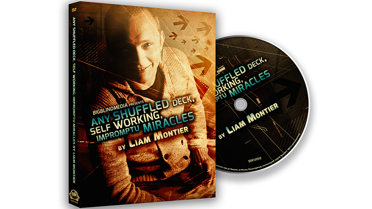 Any Shuffled Deck - Self-Working Impromptu Miracles - Big Blind Media - DVD
