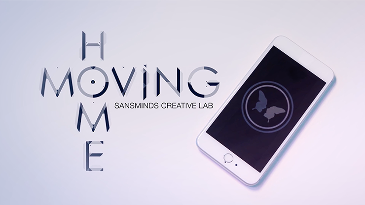 Moving Home (DVD and Gimmick Material Supplied) by SansMinds Creative Labs - Homebutton wandert