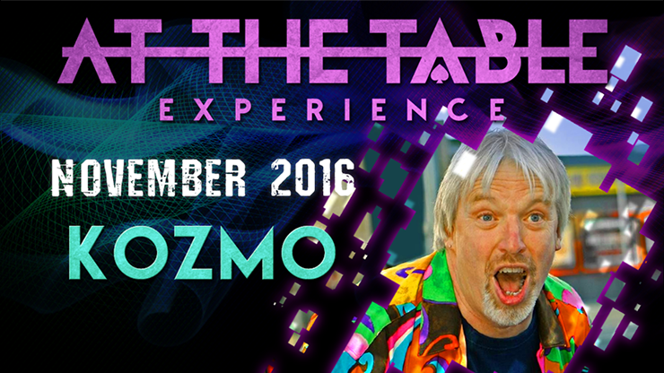 At The Table Live Lecture - Kozmo November 16th 2016 video DOWNLOAD