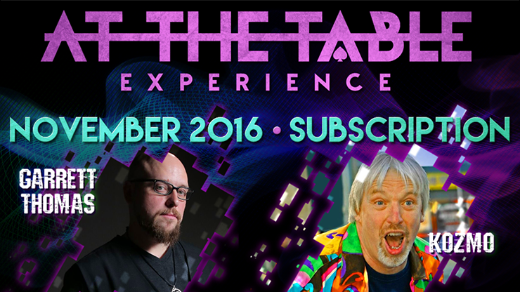 At The Table November 2016 Subscription video DOWNLOAD