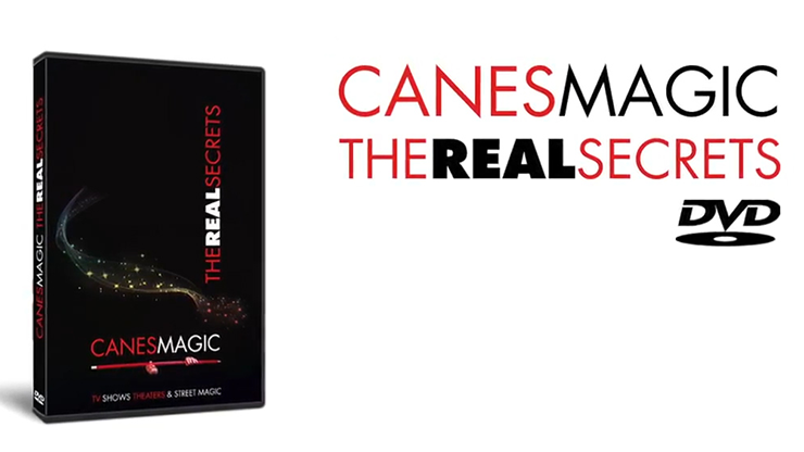 Canes MAGIC - The Real Secrets DVD by Fabien Solaz - Trickgeheimnisse der Spazierstock-Zauberei