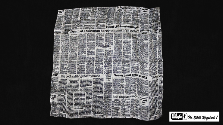 Production Hanky Newspaper Print (21