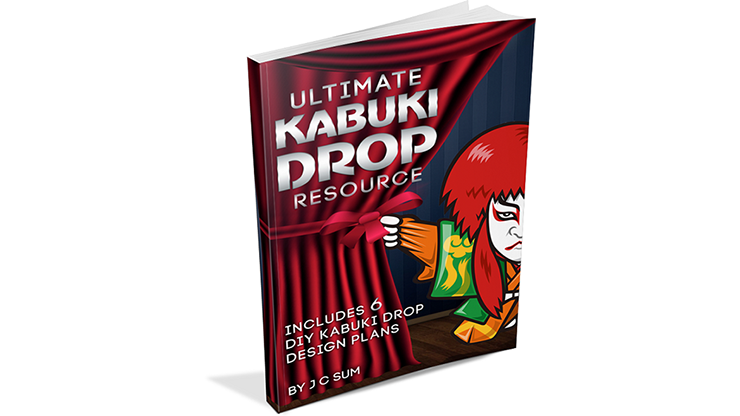 Ultimate Kabuki Drop Resource by JC Sum - Book