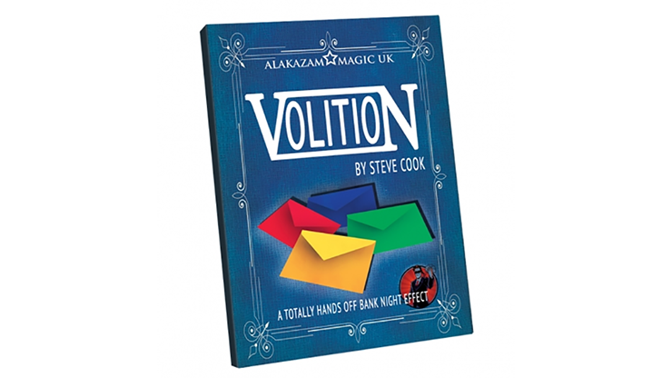 Volition (DVD and Gimmicks) by Steve Cook