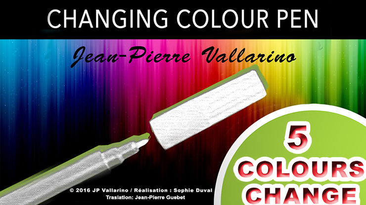 Color Changing Pen - Jean-Pierre Vallarino