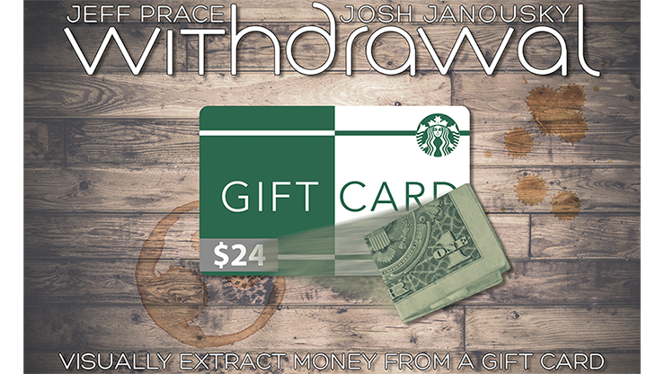 Withdrawal (Euros) by Jeff Prace and Josh Janousky