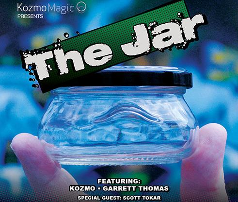 The Jar UK Version (DVD & Gimmicks) - Kozmo, Garrett Thomas & Tokar - DVD