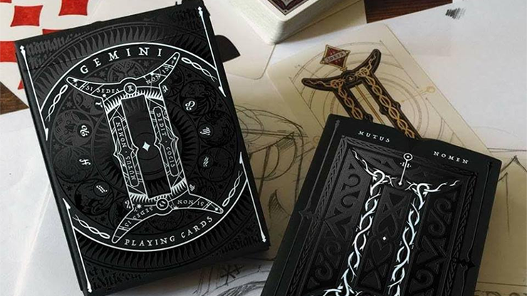 Gemini Noctis (Limited Edition & Numbered) Playing Cards - Stockholm17