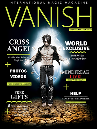 VANISH Magazine Criss Angel Special Edition eBook DOWNLOAD