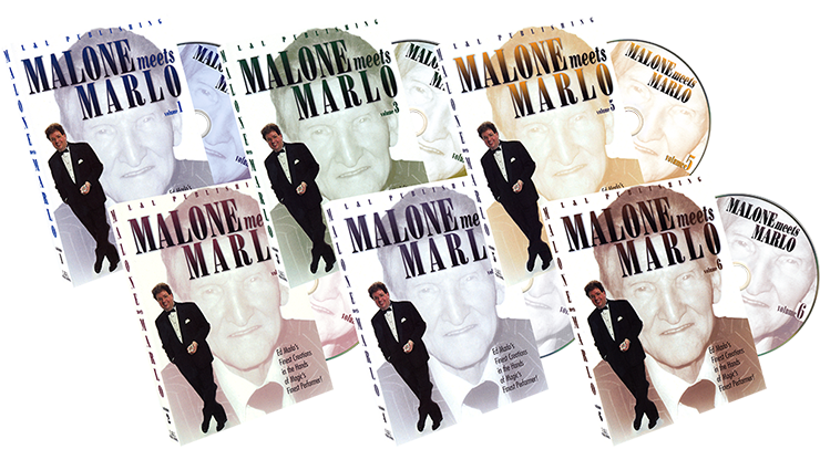 Malone Meets Marlo set of 6 DVDs by Bill Malone - DVD