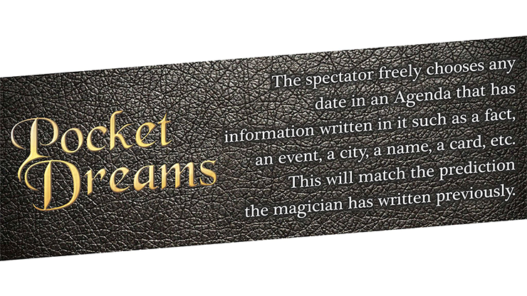 Pocket Dreams (Gimmicks and Online Instructions) by Mago Larry - Trick
