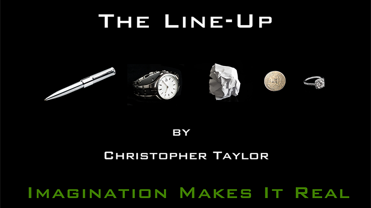 The Line Up by Christopher Taylor - Trick