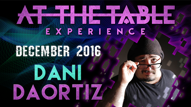 At The Table Live Lecture - Dani DaOrtiz December 21st