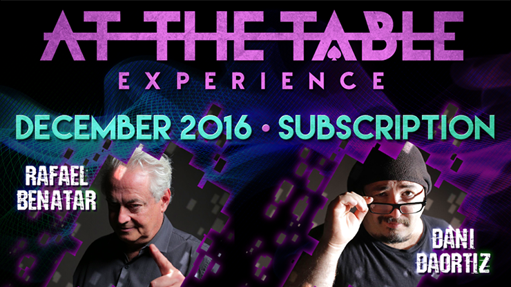 At The Table December 2016 Subscription video DOWNLOAD