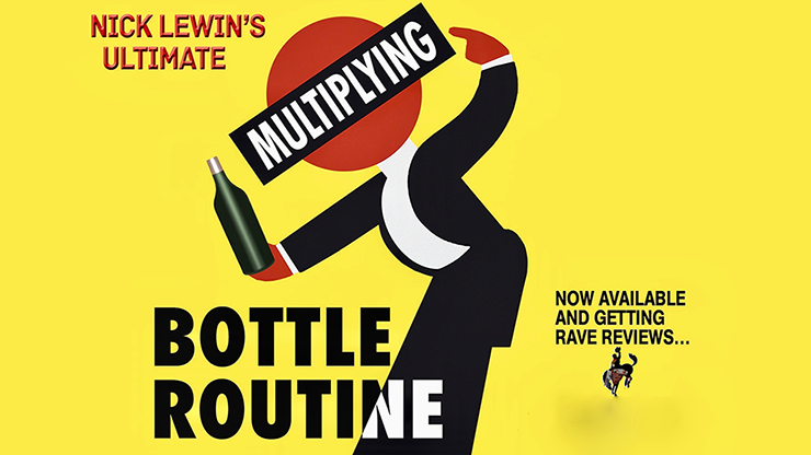 Nick Lewin's Ultimate Multiplying Bottles Routine - DVD